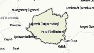 Mapa / Dél-Dunántúl