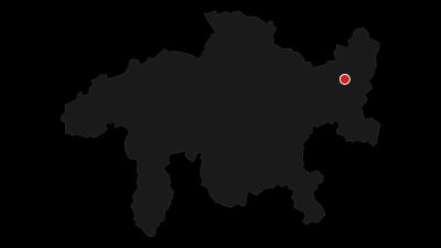Karte / Rundtour von Scuol nach Ftan