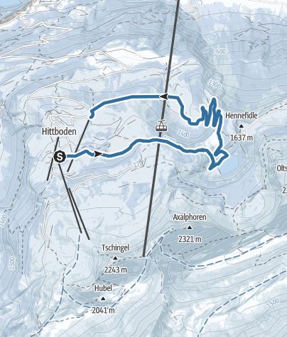 Karte / Von der Axalp zum Hinterburgseeli