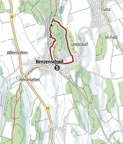 Map / Freiämter Kinderweg