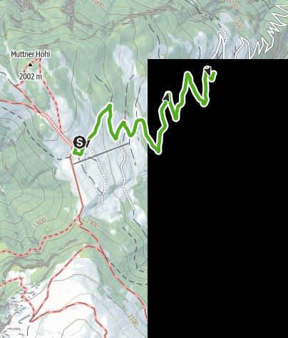 Karte / Schatzsuche mit der «Huria Fängge» in Mutten
