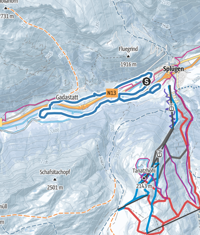Karte / 279 Medelserloipe