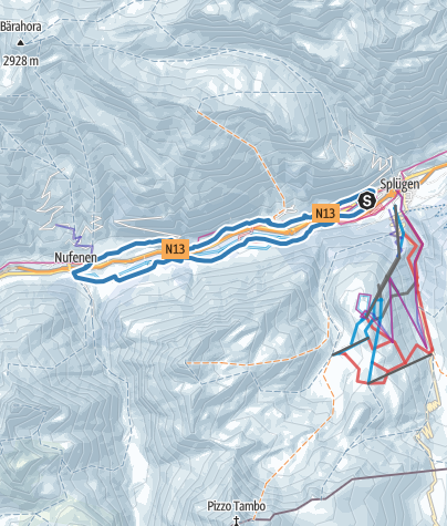 Karte / Nufenerloipe