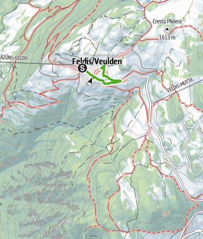 Karte / Feldiser Spazierweg