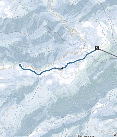 Map / Säntisalpen (Tour 11)