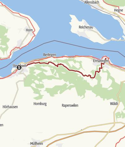 Map / Thurgauer Fabelweg