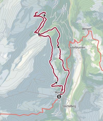 Karte / Lobhornhütte