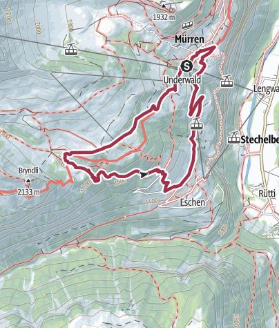 Karte / Wasserfall Sprutz
