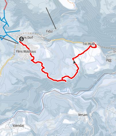 Kaart / Genusswanderung: Kulinariktrail Wald & Winter