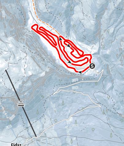 Map / Langlaufloipe Bargis