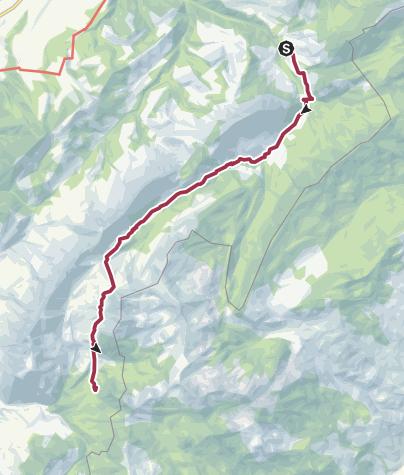 Karte / Moorlandschaftspfad: Moorlandschaft Glaubenberg (1)
