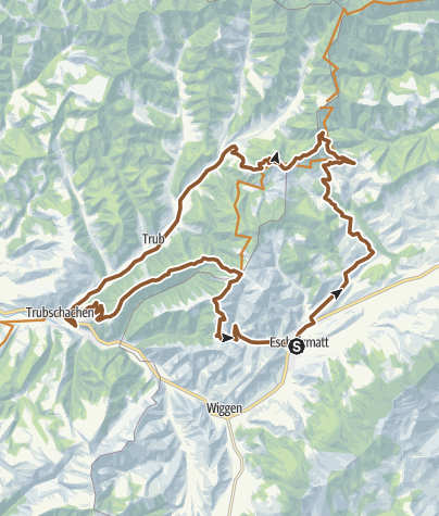 Carte / Napfbergland-Tour