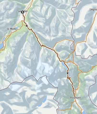 Map / Bernina Express (673)