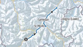 Map / Engadin Skimarathon