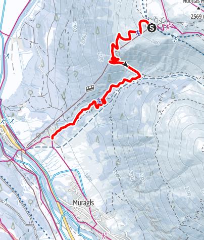 Map / Muottas Muragl