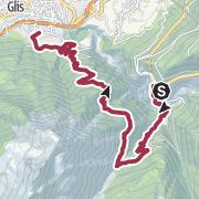 Mappa / Suonenwanderung Bärgeri