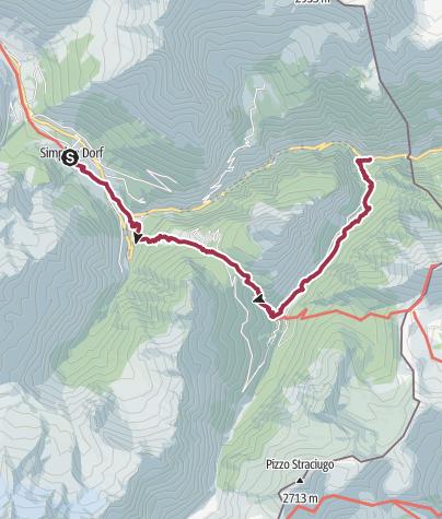 Map / ViaStockalper - Stockalperweg (Variante Furggu)