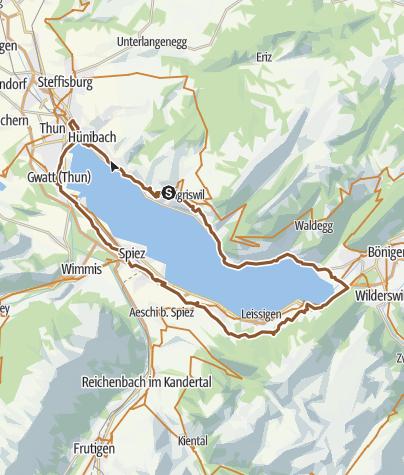 Lake Thun Loop • Bicycle Ride » outdooractive com