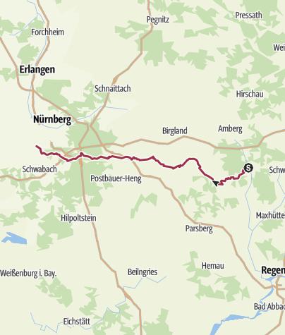 Jakobsweg Franken Karte.Oberpfälzisch Fränkischer Jakobsweg Wanderung Outdooractive Com
