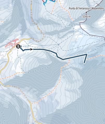 Karte / Breithorn (3473 müM)