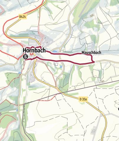 Karte / Wasserbüffelweg