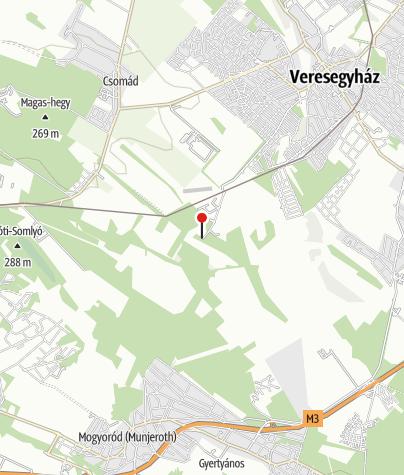Térkép / Veresegyházi Medveotthon