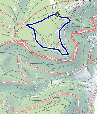 """Karte / Märchenweg """"Das kalte Herz"""" - Sommerberg Bad Wildbad"""