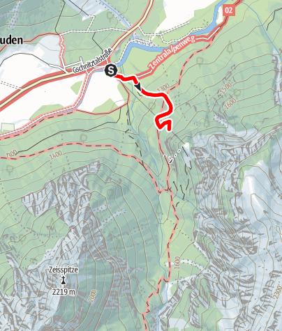 Karte / ASA Alpine Safety Area