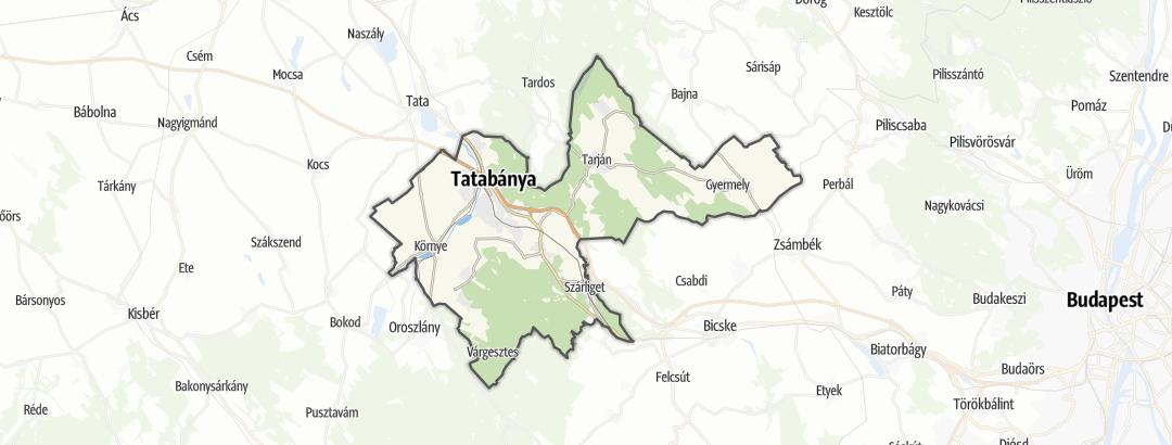 Map / Service in Tatabányai járás