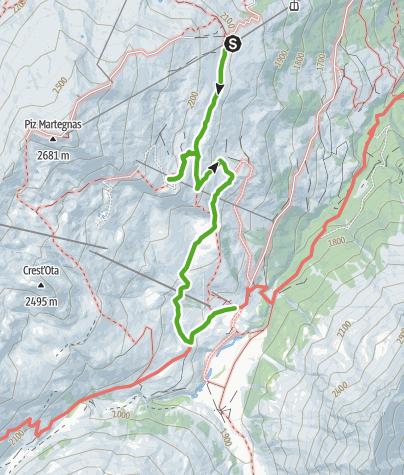 Karte / Alpleben Somtgant-Radons