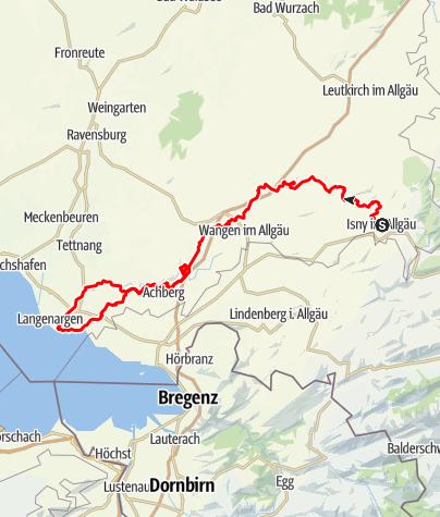 Karte / Argentour