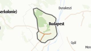 Karte / Budai-hegység