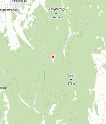 Térkép / Zselici Csillagpark