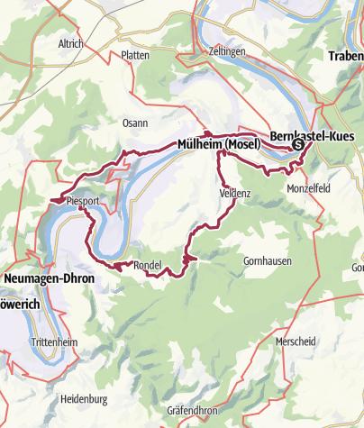 Karte / Tagschleife 24h-Wanderung 2018 (final)