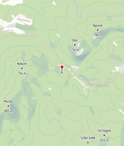 Térkép / Felső-vízesés (Mátra)
