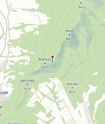 Térkép / Nagy-Koncsúr