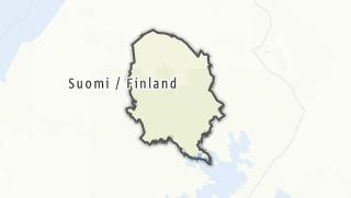Map / Nothern Savonia