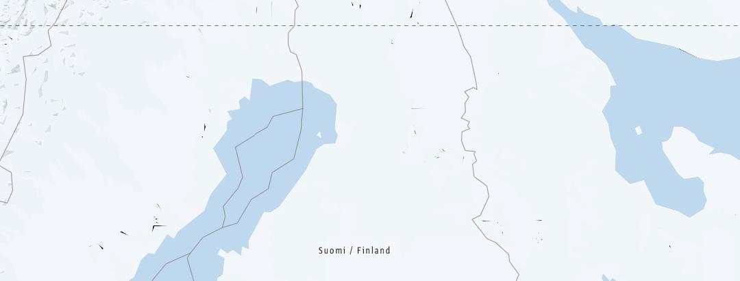 Mappa / Ciaspole in Nothern Ostrobothnia