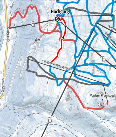 Map / Hochgurgl's Romanceway