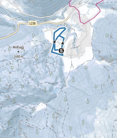 Map / Tellerboden Night Track - Umhausen-Niederthai