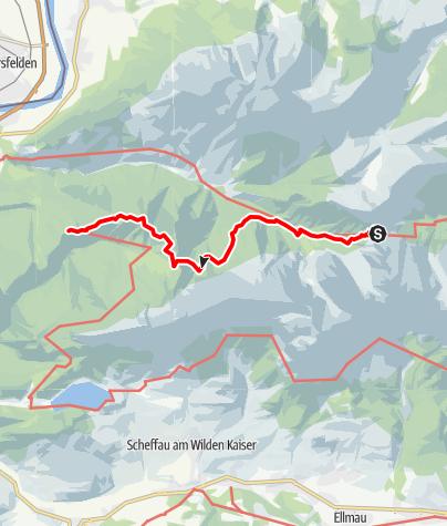 Map / Kaisertour 3. Tag