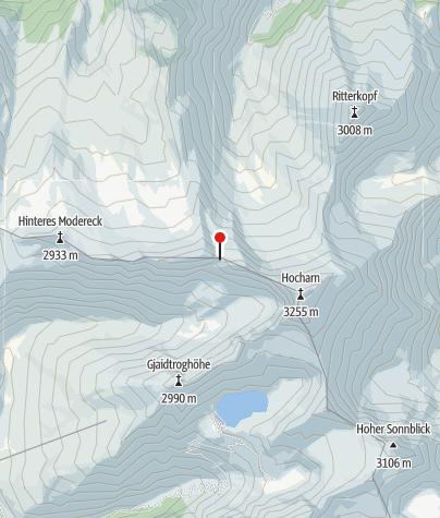 Karte / Otto-Umlauft-B. 2987m