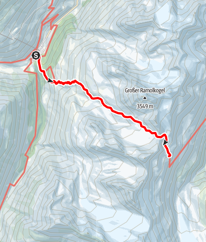 Karte / Vent - Ramolhaus