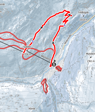 Map / Vent Tobogganway Stableinalm