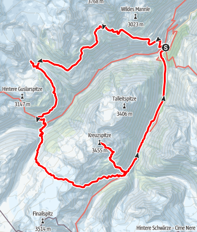 Map / Vent-Saykogel-Vent