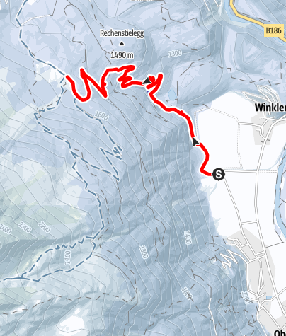 Karte / Wurzbergalm - Längenfeld