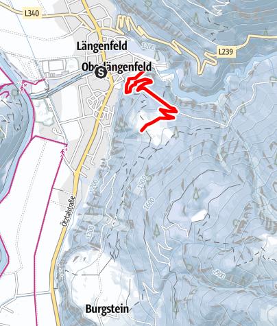 Map / Brandalm - Längenfeld
