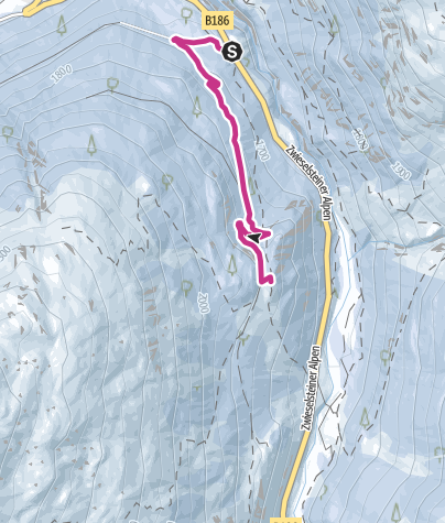 Map / Lenzenalm - Sölden/Zwieselstein