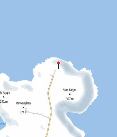 Map / North Cape Magerøya