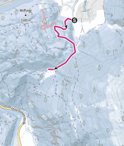 Map / Niederthai- Wiesle